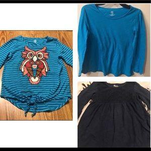 Girls Long Sleeve Shirt Bundle